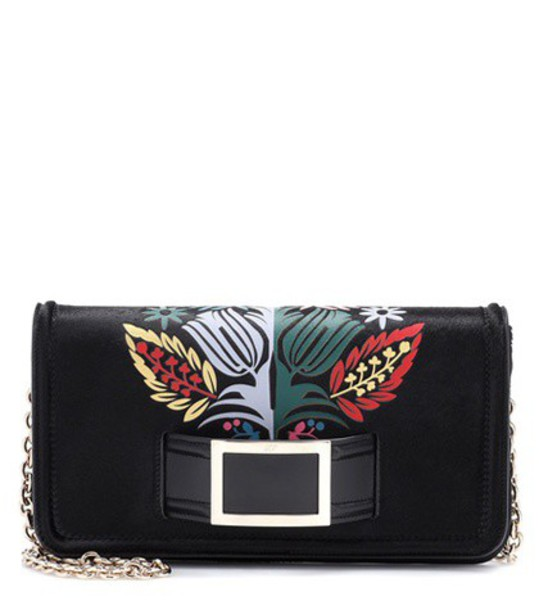 hair clutch black bag