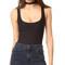 Alix mott tank bodysuit - black