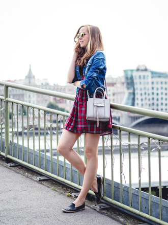 a cup of style blogger dress jacket bag shoes