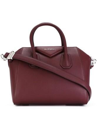 bag tote bag purple pink