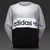 Womens Clothing - adidas Originals City Sweater - Medium Grey Heather / Black - S19900