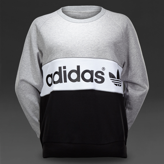 womens clothing adidas originals city sweater medium