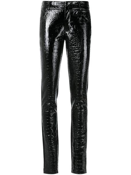 Tufi Duek women cotton black pants