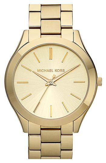Michael Kors 'Slim Runway' Bracelet Watch, 42mm | Nordstrom