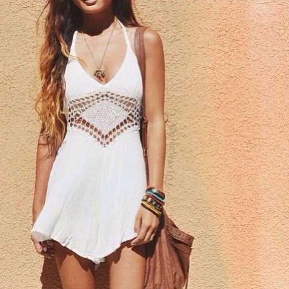 Crochet Detailed Palysuit Romper Brandy 2014 Spring Collection LF size AU 12/L