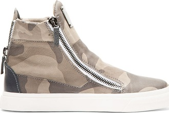 shoes camouflage sneakers giuseppe zanotti