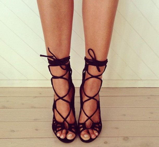 shoes strap heels heels gladiators