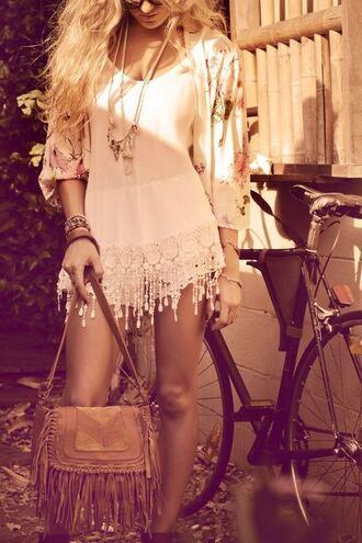 shirt dress floral blouse fringes lace floral dress floral blouse