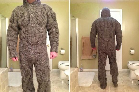 underwear pajamas mens suit funny