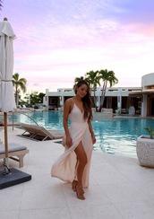 hapa time,blogger,dress,shoes,jewels,sandals,maxi dress,summer dress
