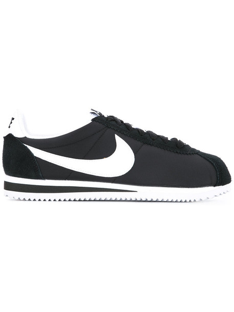 Nike - Classic Cortez sneakers - women - soft synthetic fiber/rubber - 8, Black, soft synthetic fiber/rubber