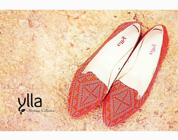 folk shoes ylla yllashoes ballet flats traditional philippines