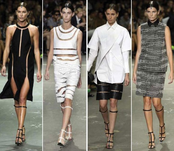 dress white dress alexander wang