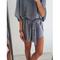 Half sleeves casual dress|disheefashion