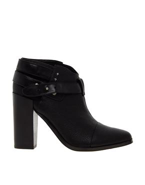 Senso | Senso Lisa I Black Strap Heeled Ankle Boots at ASOS
