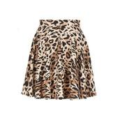 skirt,sylvi label,cheetah print skirt,animal print,animal print skirt,skater skirt
