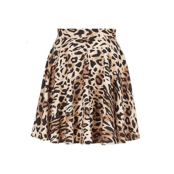 skirt sylvi label cheetah print skirt animal print animal print skirt skater skirt