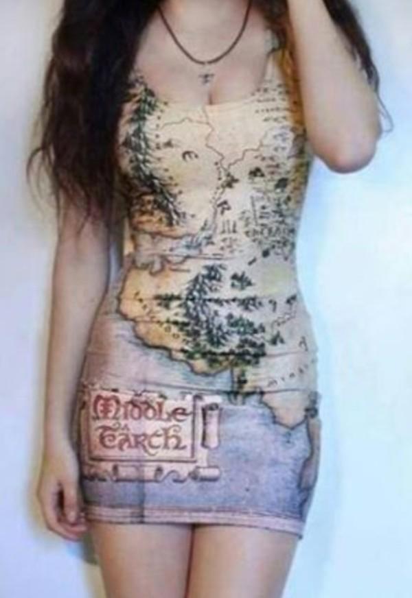 dress map cute