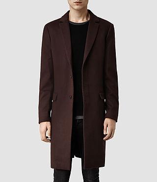 Mens Zenith Coat (Ink) | ALLSAINTS.com