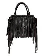 bag,black doctor bag,pleather bag,boho accessories,boho trends,fringed bag,fall trends,fall outfits,fringe trend,doctor bag,leather bag,black fringe bag,back to school,pre fall,transitional pieces,cute bags,trendy bag,affordable accessories,pixie market,pixie market girl