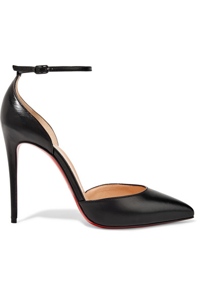 Christian Louboutin - Uptown 100 leather pumps