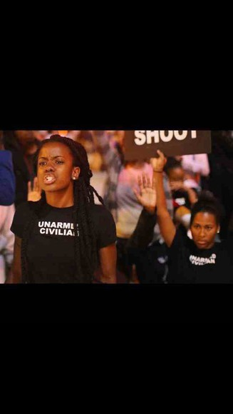 white black and white black shirt mike brown trayvon martin