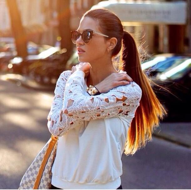 sweater white winter sweater