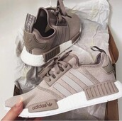 shoes,adidas nmd,adidas,grey sneakers,sneakers,adidas shoes