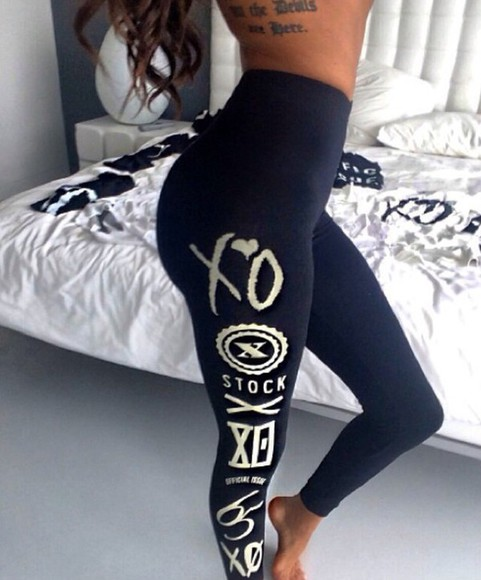 cream leggings design xo instagram