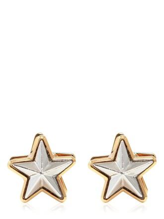 earrings stars gold silver jewels