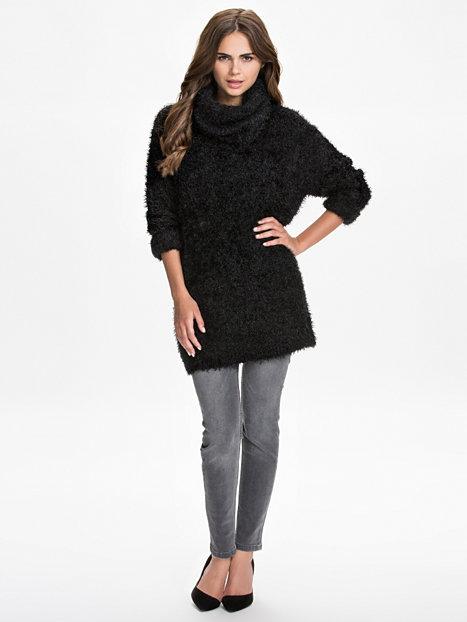 Fuzzy Turtleneck Sweater, NLY Trend