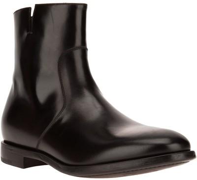 SALVATORE FERRAGAMO classic ankle boots - Polyvore