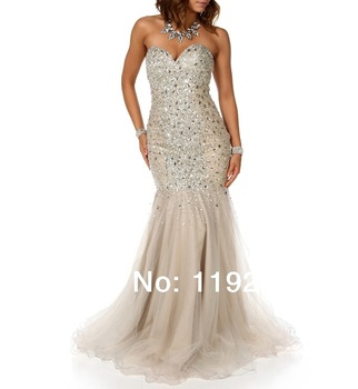 Aliexpress.com : buy custom made free shipping charming sexy sweetheart crepe prom dresses 2014 ankle length mermaid evening gowns 2014 new arrival from reliable gown lingerie suppliers on readdress