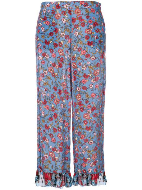 See by Chloe women floral silk pants