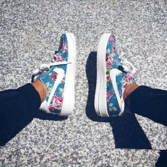 shoes nike running shoes nike nike shoes nike air force 1 nike air force floral nike floral sneakers floral shoes sneakers nike sneakers low top sneakers