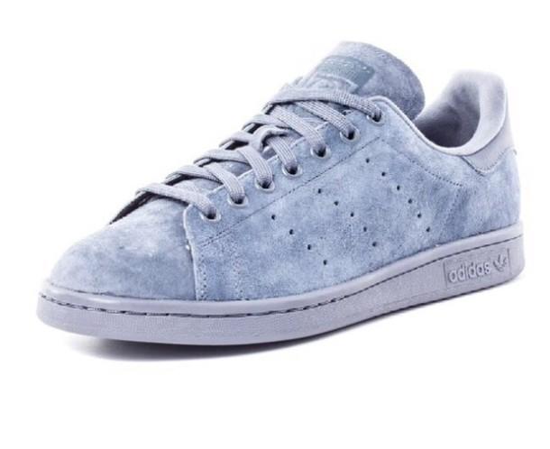 premium selection 46a84 b61b8 shoes suede stan smiths adidas stan smiths suede blue adidas shoes