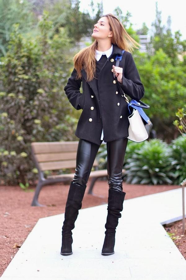 marilyn's closet blog coat bag pants shoes shirt