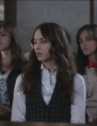 shirt vest troian bellisario pretty little liars spencer hastings tartan
