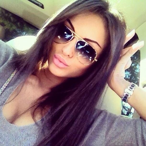 Sunglasses Tumblr Russian Model Wheretoget