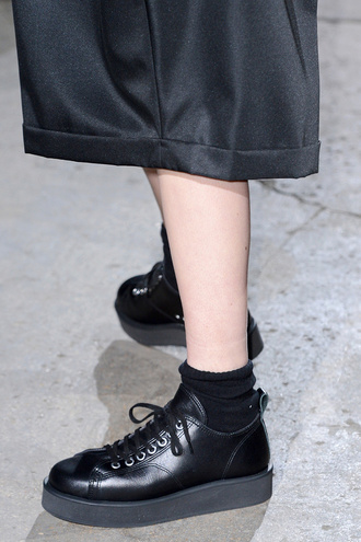 shoes tumblr creepers japan runway fashion wedges platform shoes