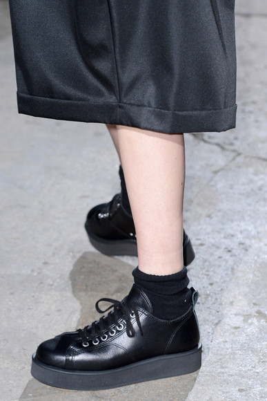 shoes tumblr creepers japan runway fashion wedges platforms