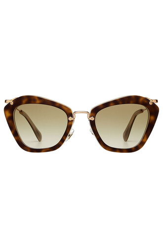 noir sunglasses brown