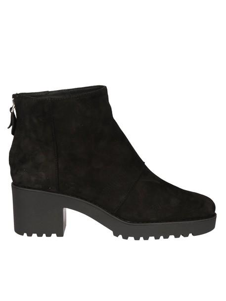 Hogan classic ankle boots black shoes