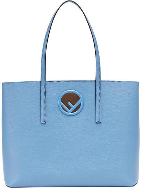 women leather cotton blue bag
