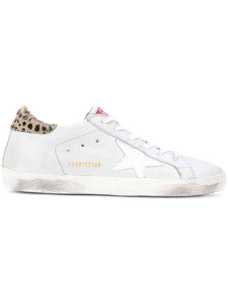 GOLDEN GOOSE DELUXE BRAND women sneakers leather cotton grey shoes