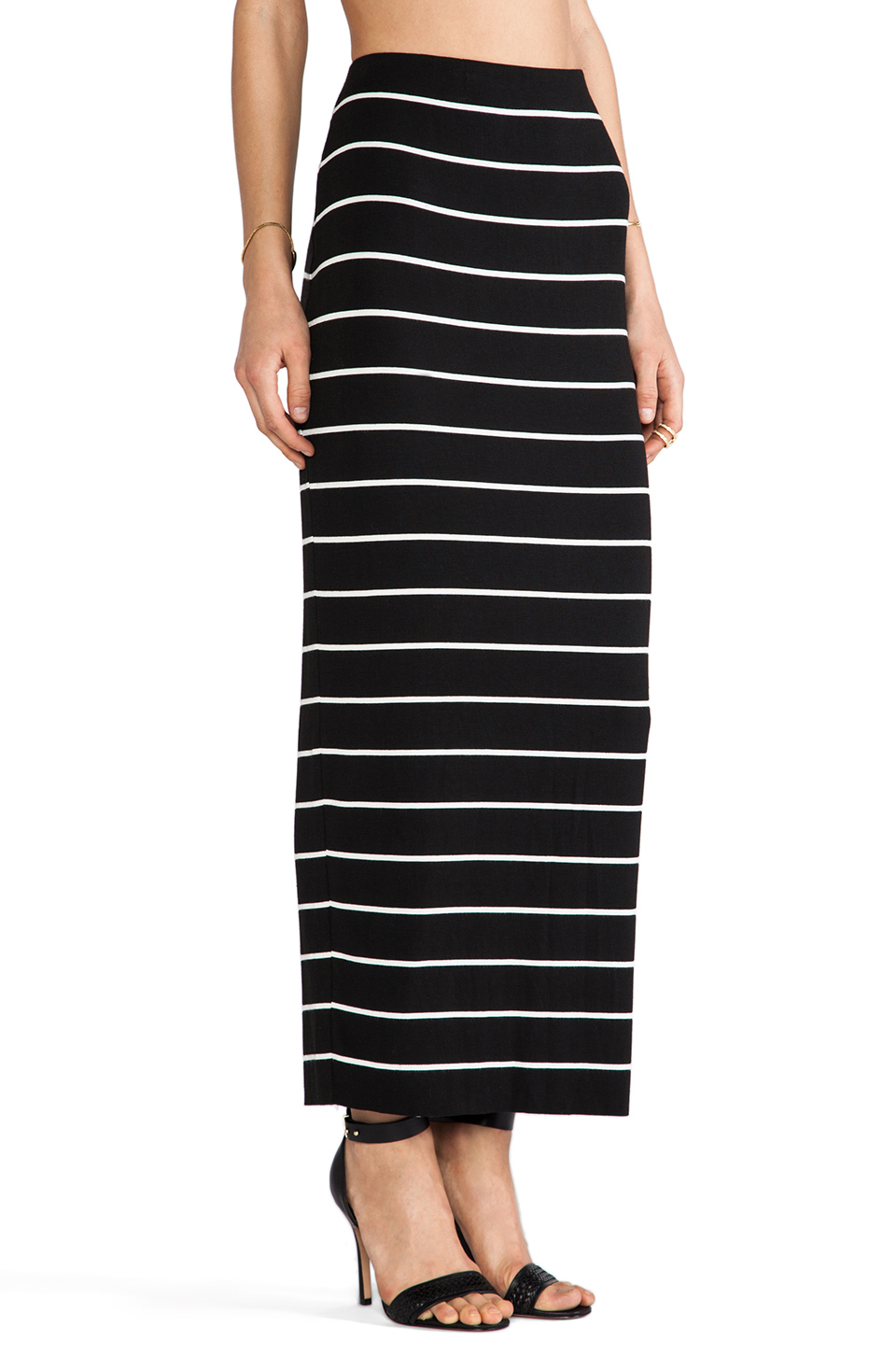 Bailey 44 Masakela Skirt in Big Stripe Black | REVOLVE