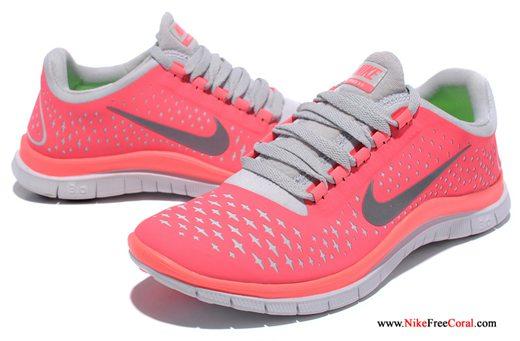 Nike 3.0 v4 hot cocktail for women running shoe