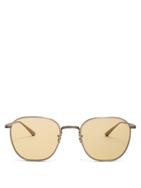 The Row sunglasses yellow