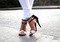 Metal detail sandals by river island