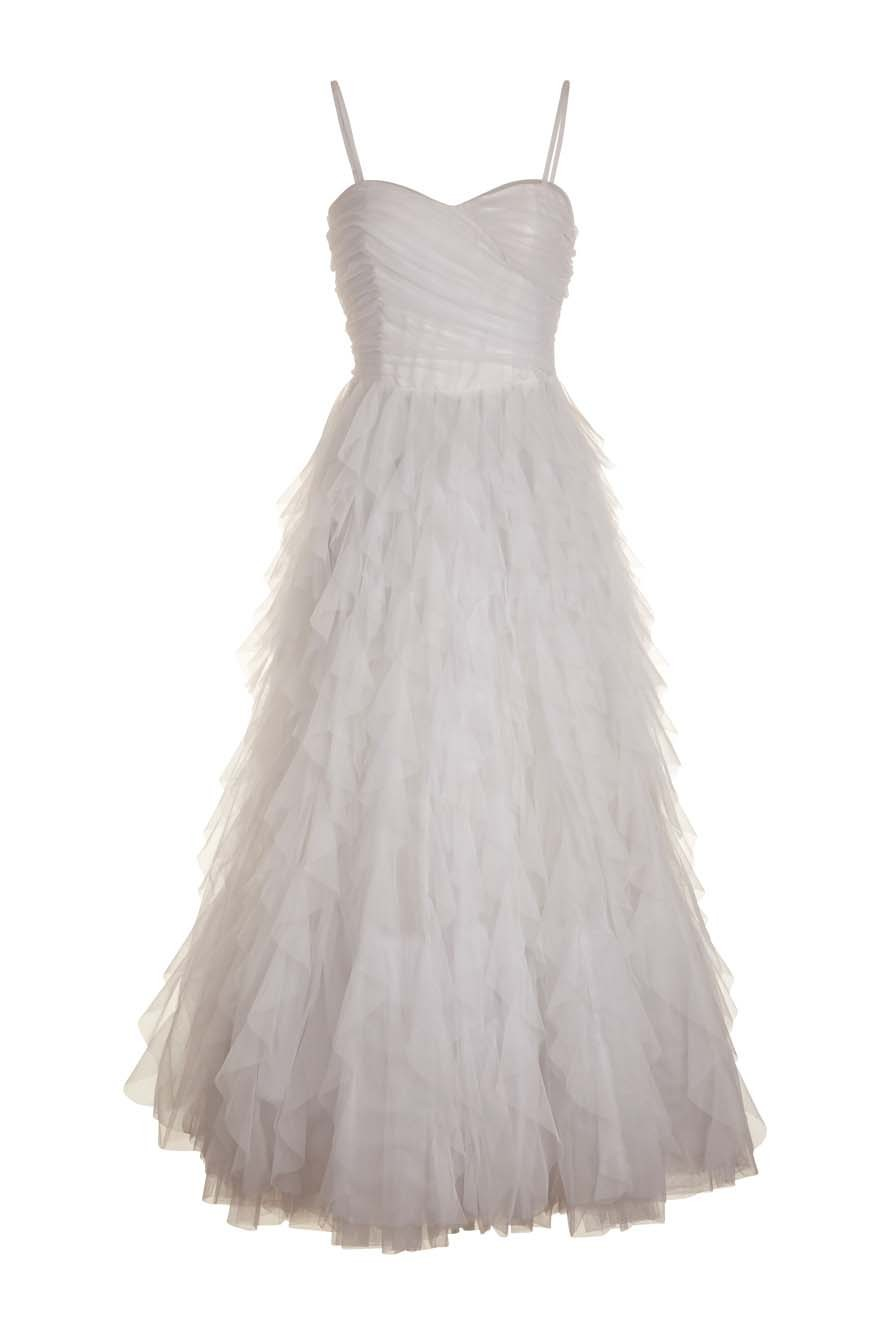 Robe bustier enchanteresse en tulle NAF NAF 199 € - Collection été 2012 a8a78a62b54f